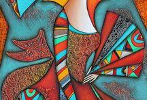 Mixed Media / Examples of mixed media artworks