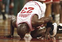 Basketball / Michael Jordan created my passion for basketball, for NBA, for T-Mac, and for sports. Every moment I see the slam dunks, I feel very lucky to be born in the fabulous time. / by Tracy Sara