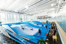 Sisäsurf Indoor surfing Flowboarding / Sisäsurffia Sirius Sportissa Flowboarding and bodyboarding at Sirius Sport Resort