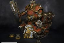 Champions of Khorne / White Metal Games' gallery of Khornate units and characters