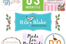 Handmade Holiday Blog Tour 2015 / Handmade Holiday Blog Tour 2015 featuring Riley Blake Designs' fabrics and Izzy & Ivy Designs, Greenstyle Creations, FooFoo Threads, Little Lizard King, brownie-goose, and Made for Mermaids. #iloverileyblake