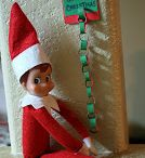 Elf on the shelf ideas / AKA The continued exploits of Dinkle and Sprinkle Sneakytoes