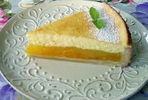 Pfirsich-Kuchen / Obstkuchen