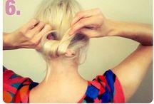 D.I.Y hair dos