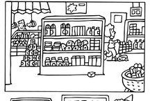 'Supermarkt' in de klas!