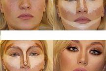 Maquiagem / Contorno de rosto