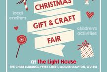 School fayre christmas poster