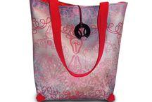 Csodaszarvas táskák / Textilbőr táskák, egyedi grafikával, négyféle modellel.