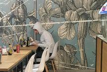Рисунки стены