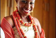 Edo/ Benin Brides / by Nigerian Wedding