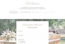 Bröllops hemsida