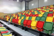 The BOX Seat at Townsville Sports Stadium, Australia / The BOX Seat 903 Retractable Model