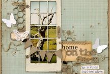 Scrapbooking ideas / A place for inspiring layouts and sketches to try