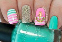 Niñas manicure