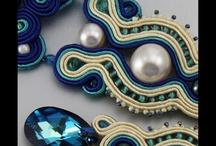 LiAnna Soutache Jewellery Earrings - biżuteria sutasz / www.lianna.blox.pl #sutasz  #soutache  #jewelry #biżuteria #biżuteria ślubna / by Anna Lipowska LiAnna
