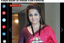 "Vidya Balan adorns ""Royal peacock collection"" from Apala by Sumit. Times of India.com"