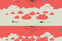 Minimalist Website Designs / One page website design inspiration