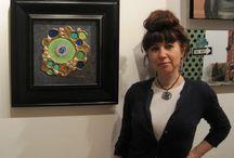 Eventos de la artista / Este tablero muestra los eventos sociales y culturales a los que asiste Sonia Pastor