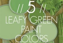 Color Ideas for the New House / by Emily Staadecker