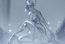 Glen keane drawing