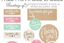 labels og gaveæsker