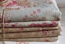 Vintage textiles, lines,lace...