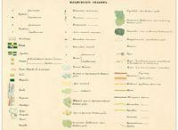карты Мендэ и условные обозначения