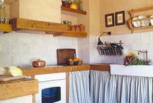 Skirted Kitchen