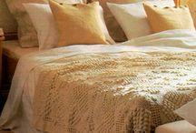 Crochet and knitting blankets and cushions/Hekel en brei komberse en kussings