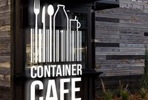 Cafe container