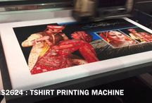 T Shirt Printing Machine / AXIS ENTERPRISES is an eminent supplier and trader of #digital #UV #flatbed #printers.