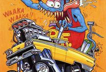 Big Daddy Roth / Monster/Hot Rod/Art