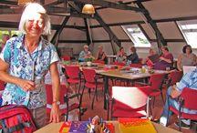 Educatief Mandala Instituut op locatie - Dominicanenklooster Huissen / Speciale Mandaladagen - Events en de Opleiding tot Mandala & Numerologiedocent.  Foto's en beschrijvingen