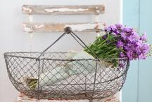 : wire baskets :