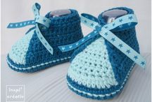 Chaussons/chaussure crochet