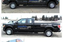 Fleet and Custom Vehicle Graphics / We can design and also use your design to create your custom design for your vehicle and or fleet!