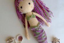 Muñecas de sirena