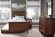 - Auburn Collection - / The Auburn Collection is thoughtfully detailed and references the best of traditional styling with an updated twist. By combining elegance and functionality, the Auburn Collection provides your child with a beautiful bedroom designed to grow along with them. Included in the collection is a twin bed, trundle, double dresser, mirror, and nightstand. All pieces are sold separately.