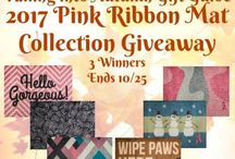 October 2017 Giveaways and Goodies