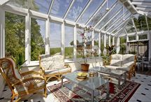 Conservatories and sun rooms / Sun filled rooms, garden rooms, conservatories