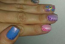 il mio nail art / moje paznokcie