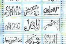 Písmo - inspirace