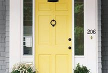 Make an Entrance / These gorgeous entryways and doors add some serious curb appeal.