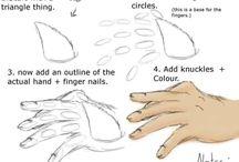 Comment dessiner une main