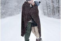 Couple - Winter wonderland