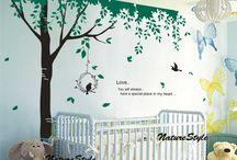 Vinyl Wall Stickers for Bedroom