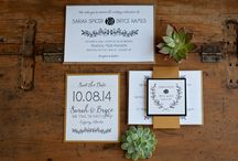 Wedding Stationery / Mountain weddings aren't like other weddings! Your wedding invitation suite and wedding stationery should complement the setting and celebration!
