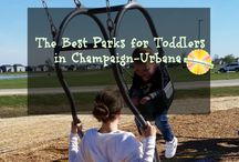 Toddler Fun in Champaign-Urbana / The top places to take toddlers in Champaign-Urbana and beyond on Chambanamoms.com