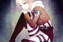 Annie Leonhardt - The Female Titan - Aot/SnK