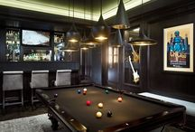 pool room / man space